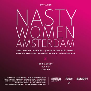 NASTY WOMEN ART EXHIBITION AMSTERDAM