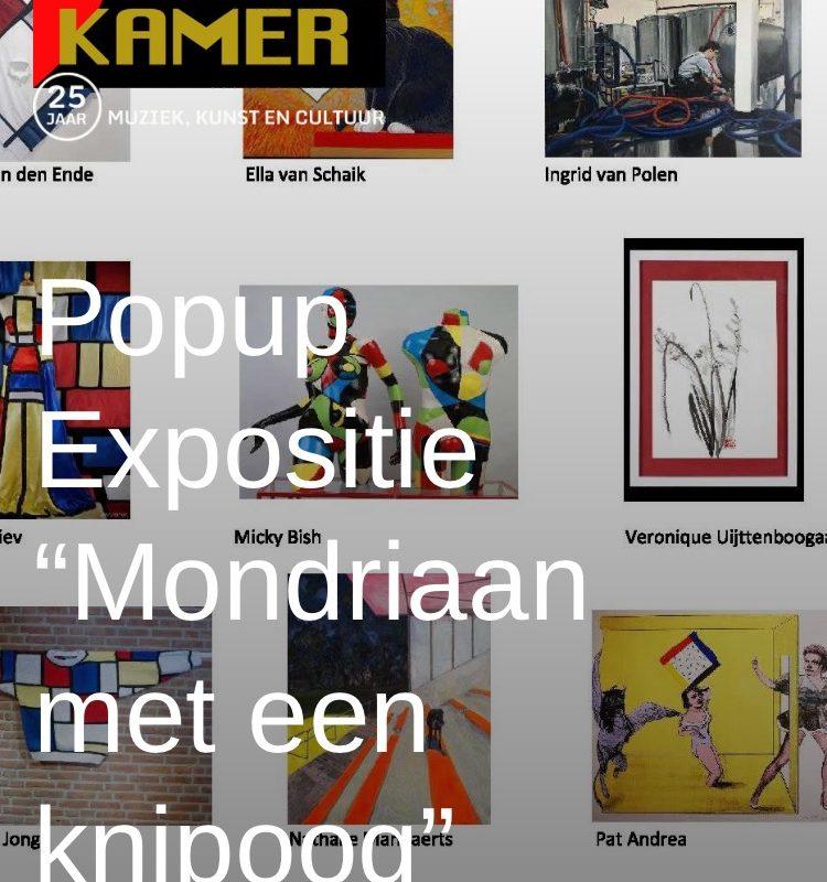 Pop-Up expositie Mondriaan Met Een Knipoog