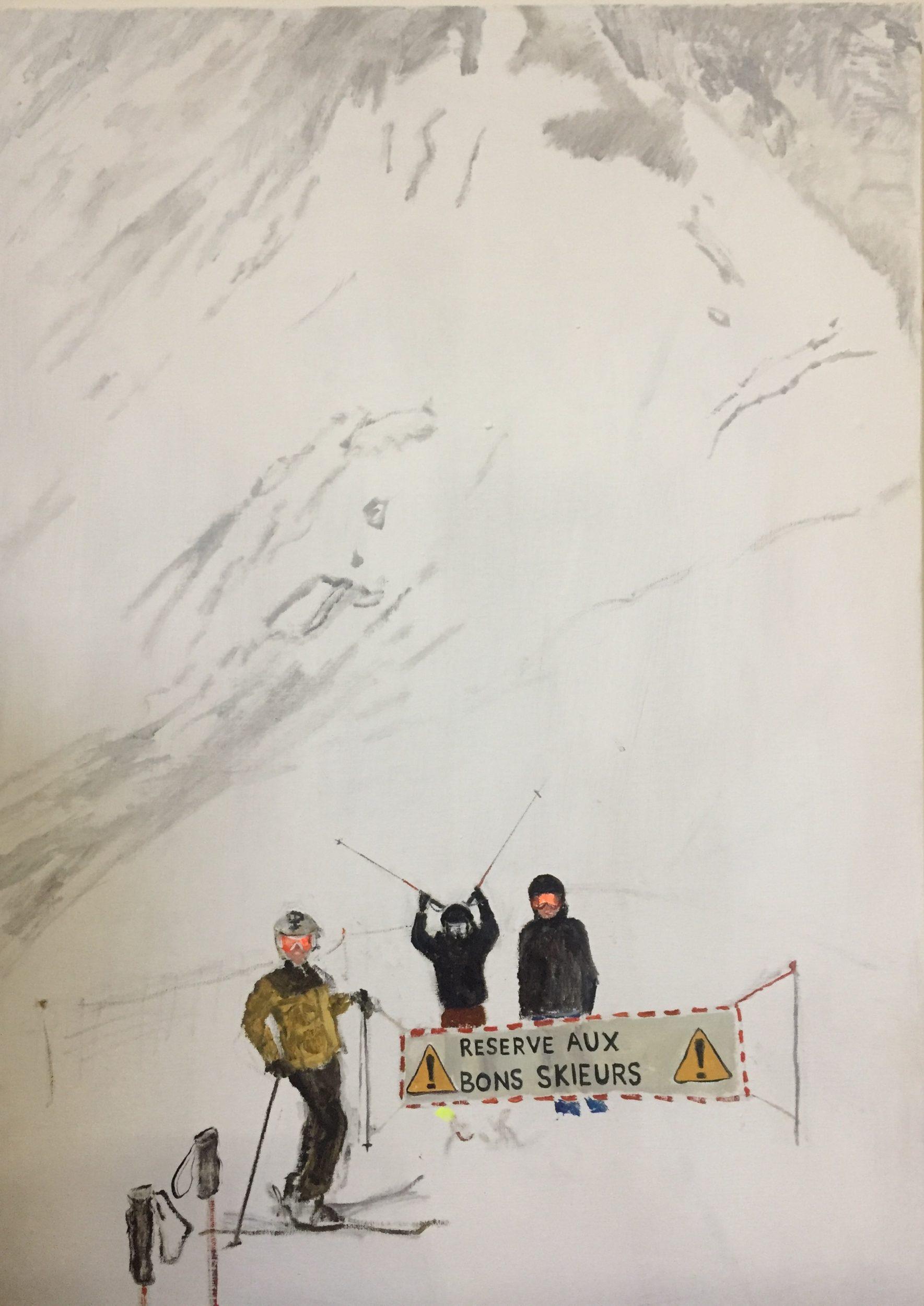 Reservé Aux Bons Skieurs (tribute to Yoshida Hiroshi)